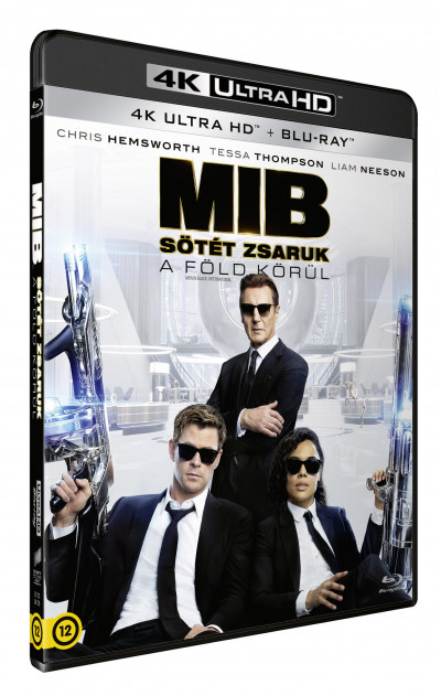 F. Gary Gray - Men in Black - Sötét zsaruk a Föld körül - 4K Ultra HD + Blu-ray