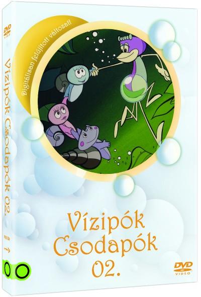 Haui József - Szabó Szabolcs - Szombati Csaba - Vízipók Csodapók 02. - DVD