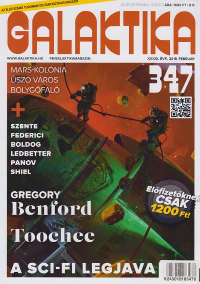 Németh Attila  (Szerk.) - Galaktika Magazin 347.szám - 2019. február
