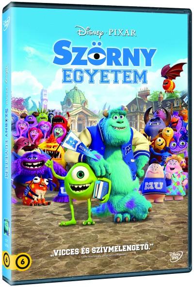 Dan Scanlon - Szörny Egyetem - DVD