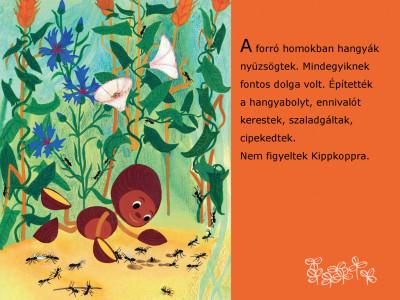 Marék Veronika - Kippkopp a fűben - Diafilm