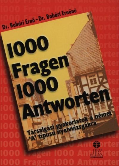 Dr. Babári Ernő - Dr. Babári Ernőné - 1000 Fragen 1000 Antworten