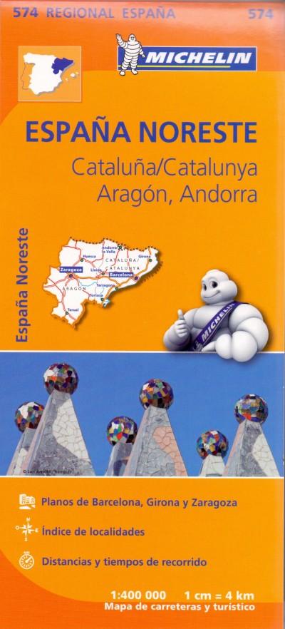 - Catalunya, Aragón, Andorra regionalmap