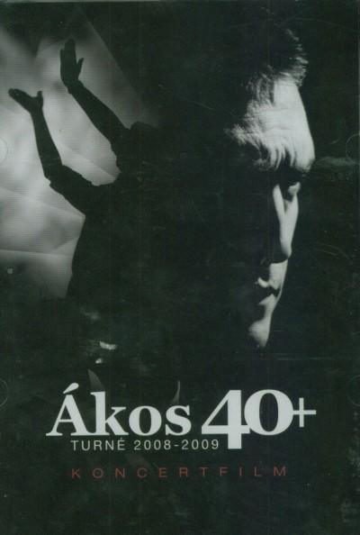 Kovács Ákos - 40+ - DVD