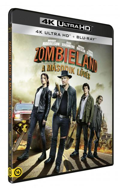 Ruben Fleischer - Zombieland: A második lövés - 4K UltraHD+Blu-ray