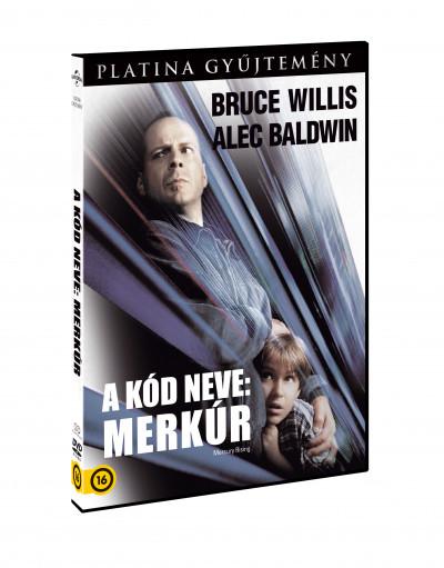 Harold Becker - A kód neve: Merkúr - DVD
