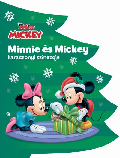 - Disney - Minnie és Mickey karácsonyi színezője