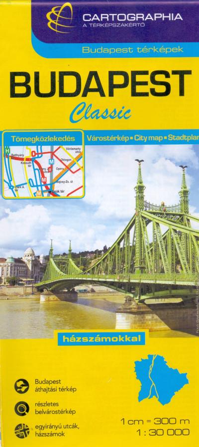 """- Budapest Classic térkép 1:30 000 """"SC"""""""