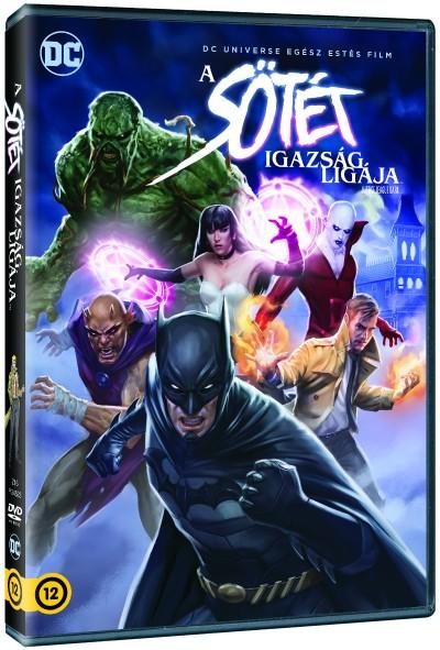 Jay Oliva - A Sötét Igazság ligája - DVD