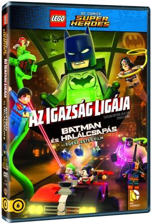 Matt Peters - Mel Zwyer - LEGO: AZ IGAZS�G LIG�JA: Batman �s Hal�lcsap�s - DVD