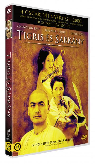 Ang Lee - Tigris és Sárkány - DVD