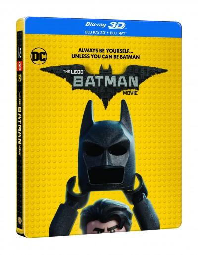 Chris Mckay - Lego Batman - A film - Blu-ray 3D + Blu-ray (fémdobozos)