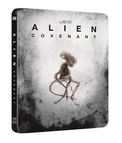 Ridley Scott - Alien: Covenant - limitált, fémdobozos változat - Blu-ray