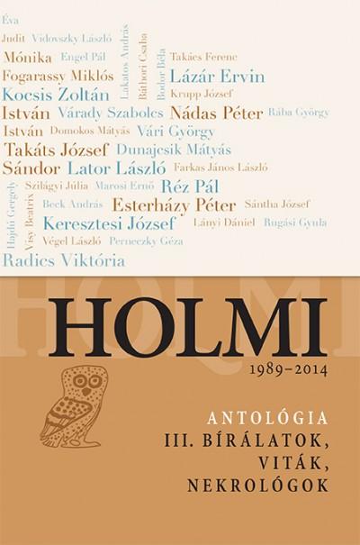 Radnóti Sándor  (Vál.) - Holmi-antológia III.