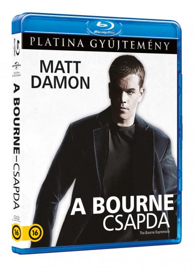 Paul Greengrass - A Bourne-csapda -  Blu-ray