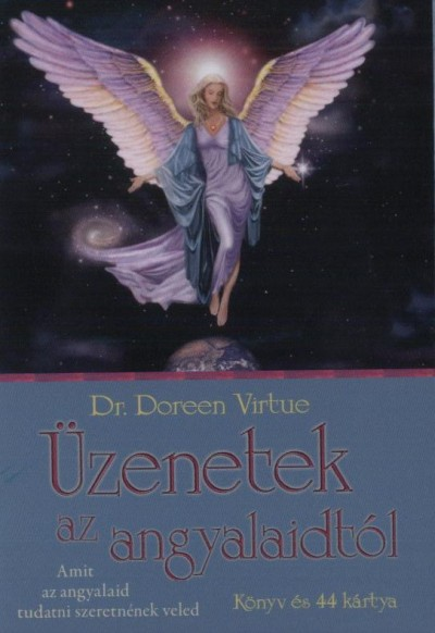 Doreen Virtue - Üzenetek az angyalaidtól - Könyv és 44 kártya