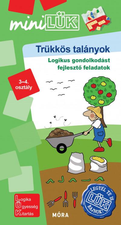 Borbély Borbála  (Szerk.) - Vukman Andrea  (Összeáll.) - Trükkös talányok - LDI571