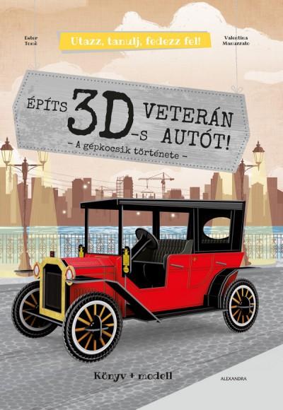 - Építs 3D-s veterán autót