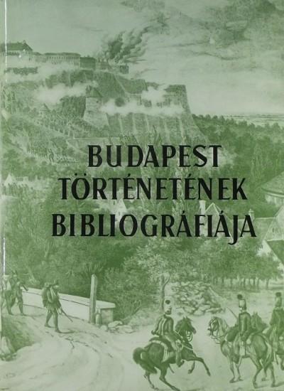 Dr. Berza László  (Szerk.) - Budapest történetének bibliográfiája V.