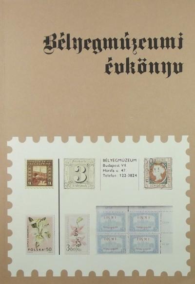 - Bélyegmúzeumi évkönyv