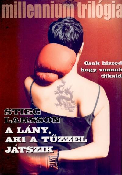 Stieg Larsson - A lány, aki a tűzzel játszik