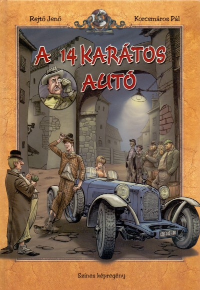 Rejtő Jenő - A 14 karátos autó