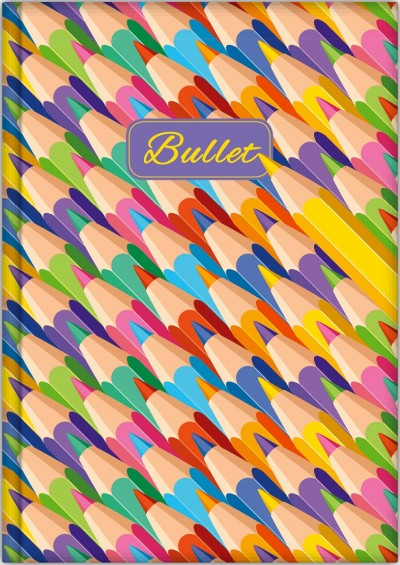 - Dayliner Notes Colors A5 Bullet - Graphite