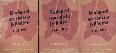 - Budapest szocialista fejlődése 1-3.