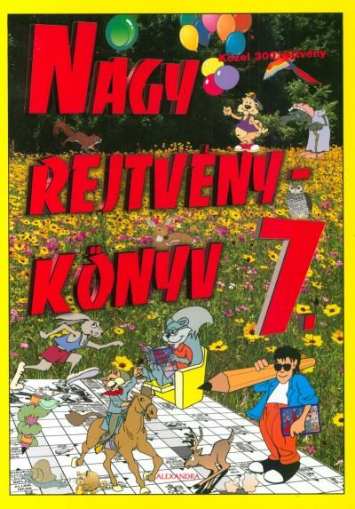 Kresz Károly  (Szerk.) - Nagy rejtvénykönyv 7.