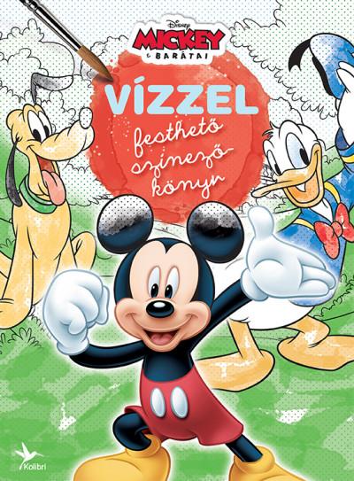 - Vízzel festhető színezőkönyv - Mickey és barátai