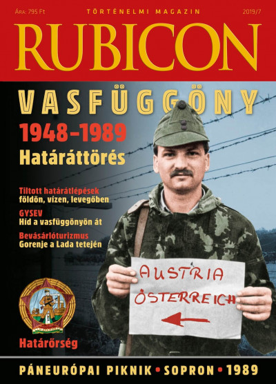 - Rubicon - Vasfüggöny - határáttörés - 2019/7.