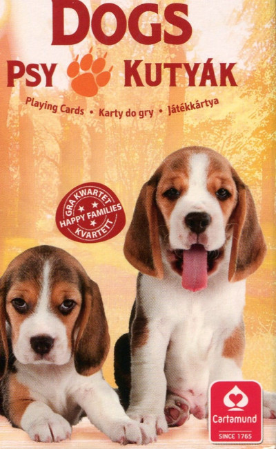 - 4 az 1-ben / Kedvenceink a kutyák kártya