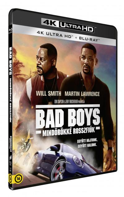 Adil El Arbi - Bilall Fallah - Bad Boys - Mindörökké rosszfiúk 4K Ultra HD + Blu-ray