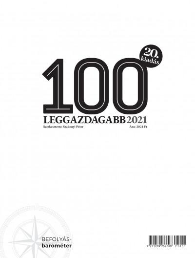 Szakonyi Péter  (Szerk.) - A 100 leggazdagabb 2021