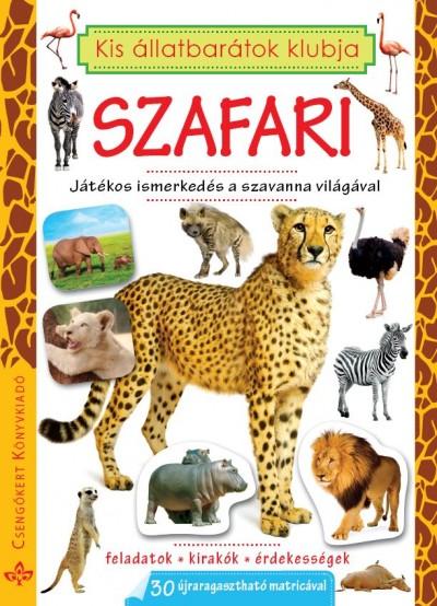 - Szafari - Játékos ismerkedés a szavanna világával