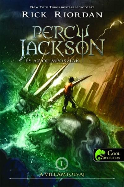 Rick Riordan - Percy Jackson és az olimposziak 1. - A villámtolvaj - puha kötés