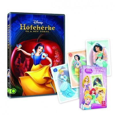 Walt Disney - Wilfred Jackson - Ben Sharpsteen - Hófehérke és a hét törpe + kártya - DVD