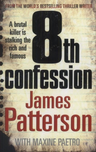 James Patterson - 8th confession