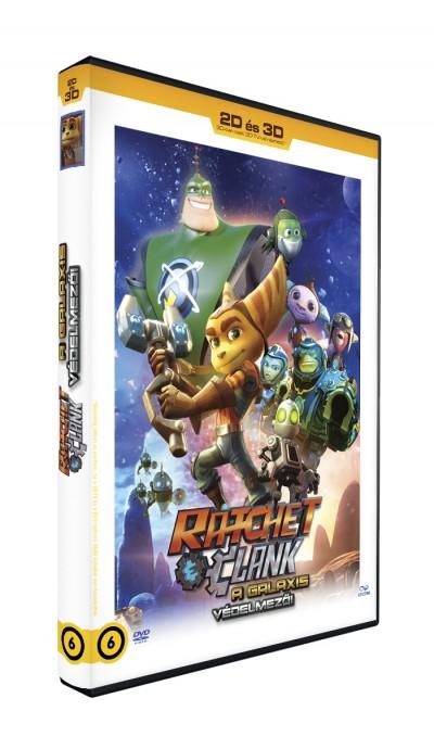 Kevin Munroe - Ratchet & Clank - A Galaxis védelmezői - DVD