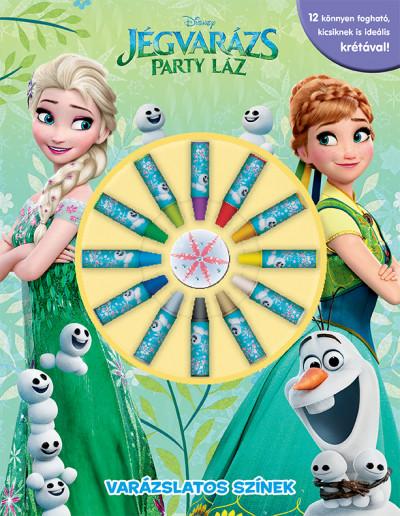 - Jégvarázs - Party láz: Varázslatos színek