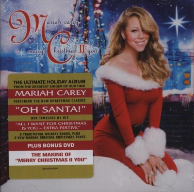 Mariah Carey - Merry Christmas II You CD+DVD