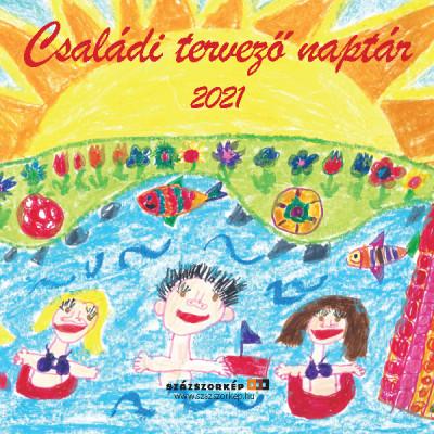 - Családi Tervező naptár - 2021 - 29x29 cm