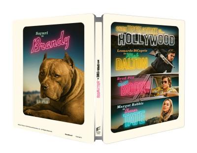 Quentin Tarantino - Volt egyszer egy... Hollywood - limitált, fémdobozos Blu-ray + képeslapok