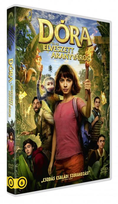 James Bobin - Dóra és az elveszett aranyváros - DVD