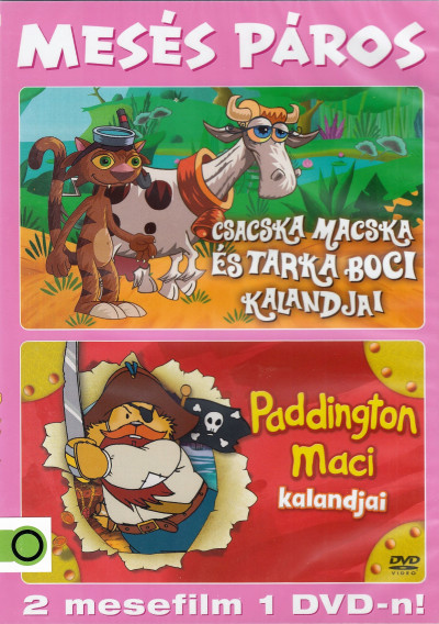 - Paddington Maci / Csacska macska és tarka boci DVD 5 .