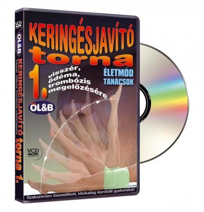 Tápainé Bajnay Márta  (Összeáll.) - Keringésjavító torna 1. - DVD
