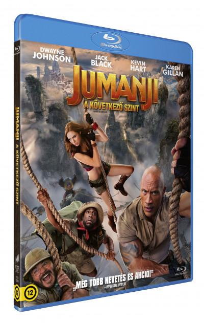 Jake Kasdan - Jumanji - A következő szint - Blu-ray