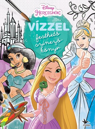 - Vízzel festhető színezőkönyv - Hercegnők