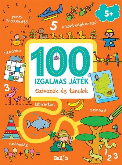 - 100 izgalmas játék - Színezek és tanulok