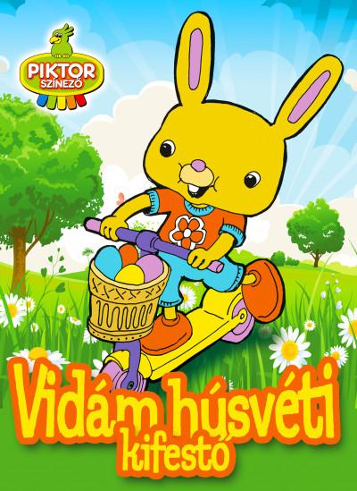 - Vidám húsvéti kifestő